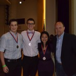 Levy Sominsky, Benjamin Golbin, Meghan Bialt-DeCelie (Botany/Zoology High School Category Winners)