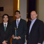 Kamyar Ghiam, Anuj Gupta (2nd Place Overall Winners- High School Division)