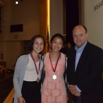 Marissa Aaronson, Morgan Lee (Social Science Middle School Category Winners)